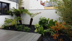 Conception jardin exotique BEGLES proche BORDEAUX