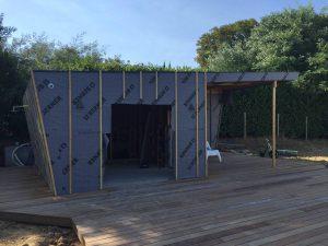 Construction sur mesure de pool house, abri piscine CREON proche LIBOURNE