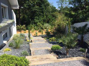 Création de jardin ARTIGUES PRES BORDEAUX proche TRESSES