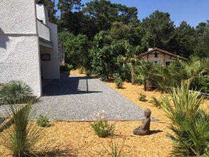 Création de massifs et aménagement paysager BOULIAC près BORDEAUX