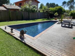Réalisation d'une terrasse en ipé CARIGNAN DE BORDEAUX proche BOULIAC